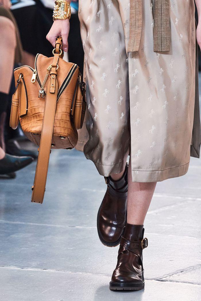 Модная обувь коллекция 2020 Chloé