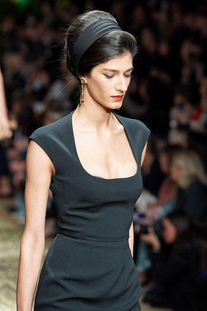 Стрижки моделей на показе Dolce & Gabbana 2020