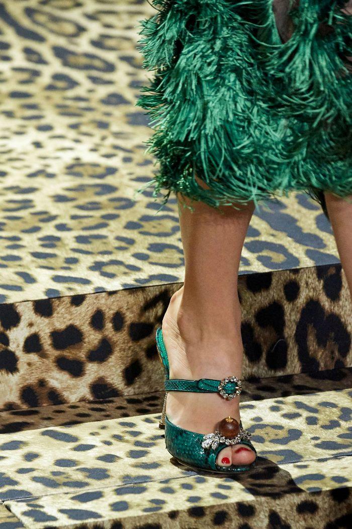 Модные цвета обуви 2020. Коллекция Dolce & Gabbana