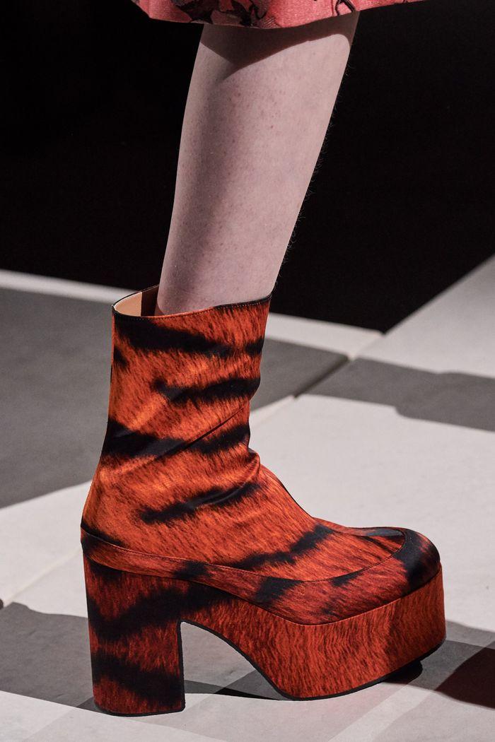 Модная обувь коллекция 2020 Dries Van Noten