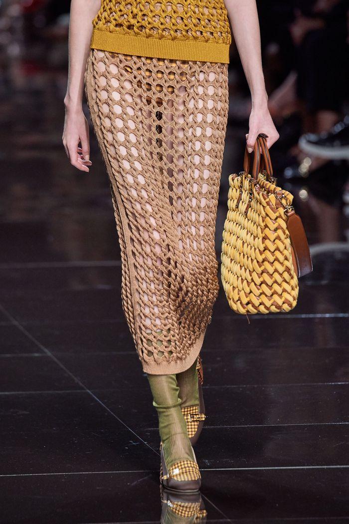 Модная обувь коллекция 2020 Fendi