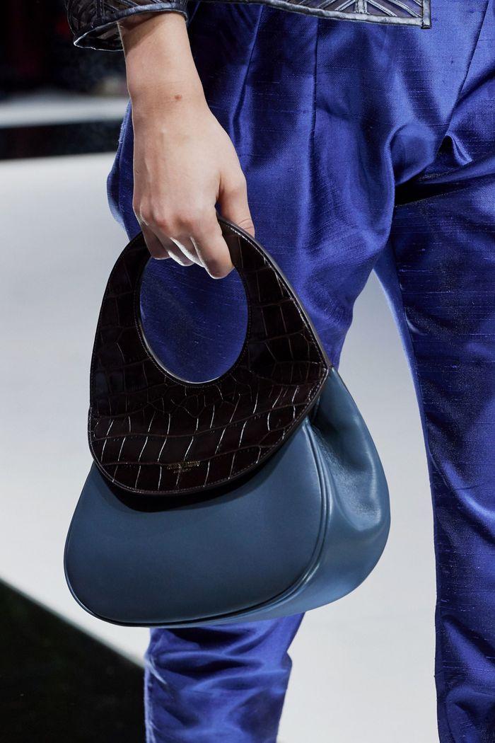 Модная сумка 2020 с круглой ручкой из коллекции Giorgio Armani