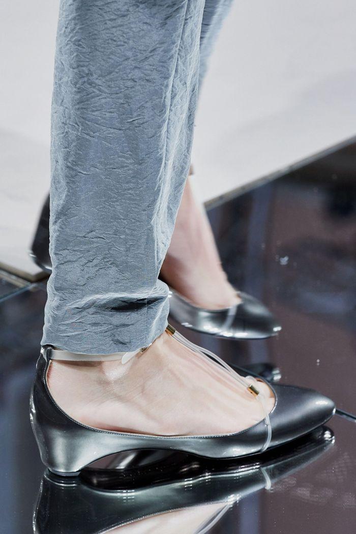 Модные цвета обуви 2020. Коллекция Giorgio Armani