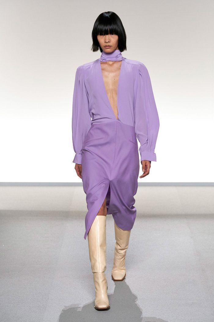 Трендовые цвета женской одежды 2020. Коллекция Givenchy