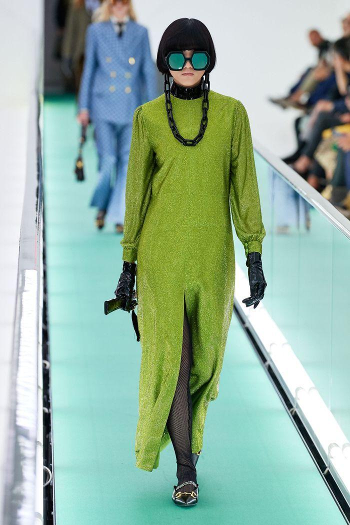 Трендовые цвета женской одежды 2020. Коллекция Gucci