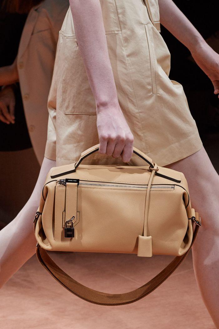 Модная бежевая сумка 2020 из коллекции Hermès