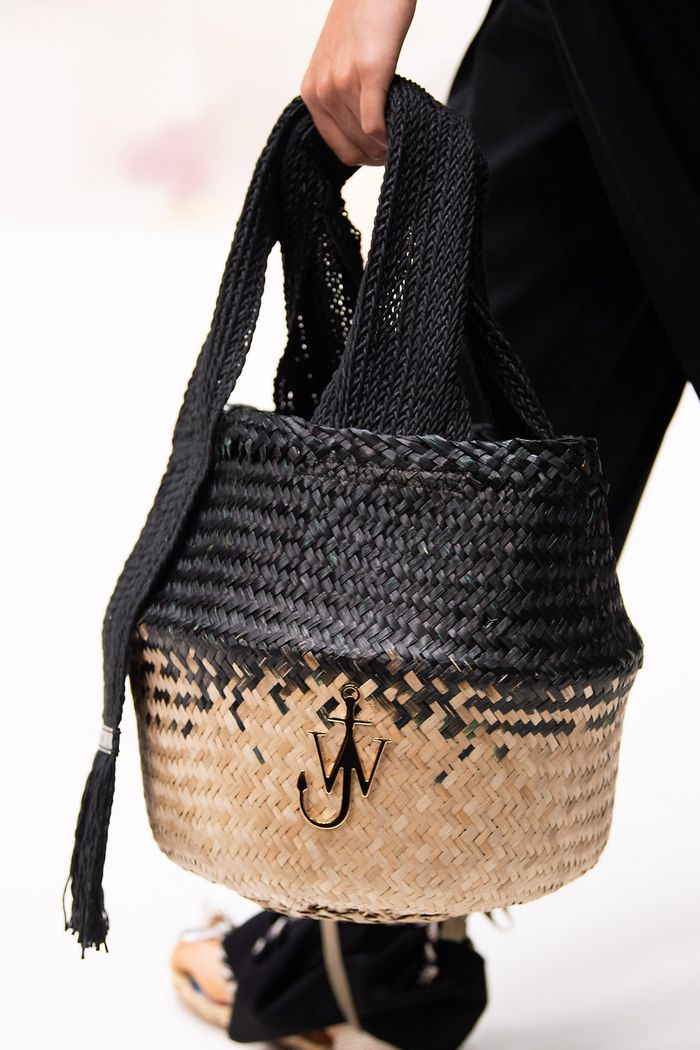 Модная форма сумок 2020 - корзина. Коллекция JW Anderson