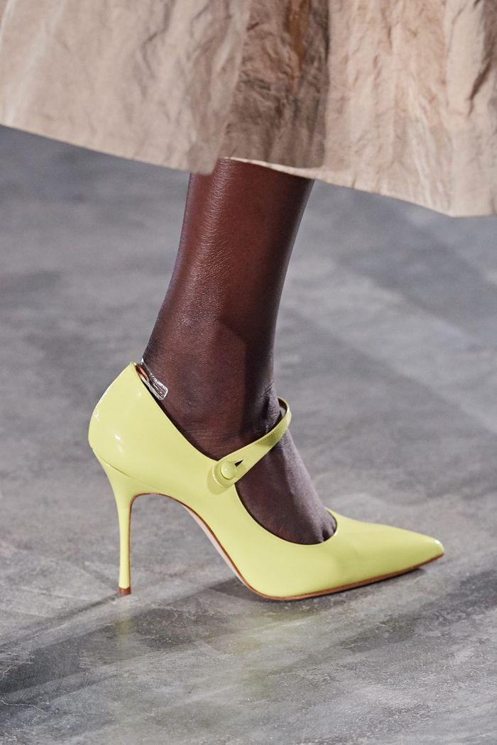 Модные цвета обуви 2020. Коллекция Jason Wu Collection