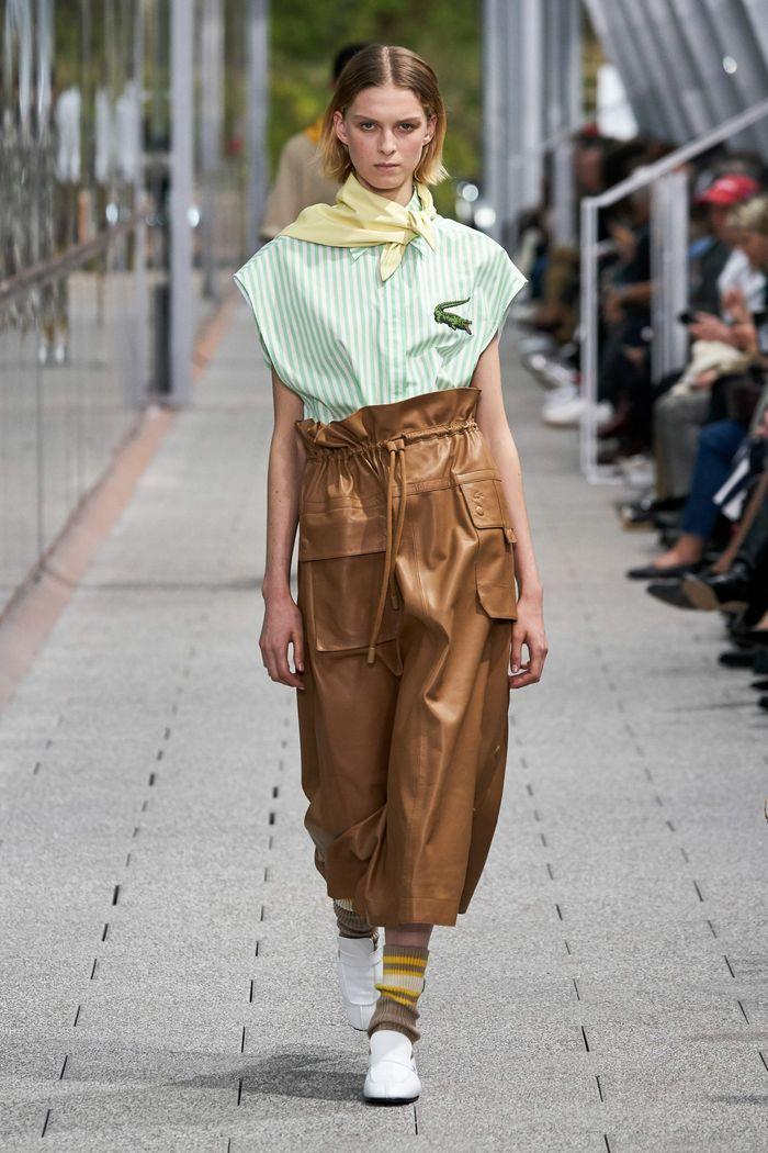 Тренды в одежде 2020 весна-лето. Коллекция Lacoste
