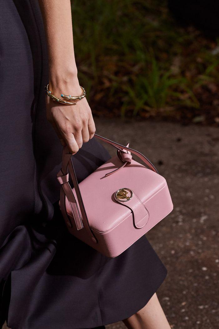 Модная розовая сумка 2020 из коллекции Lanvin
