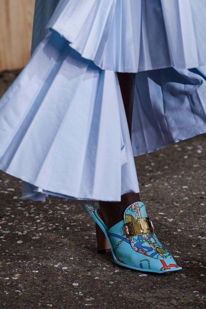 Модная обувь коллекция 2020 Lanvin