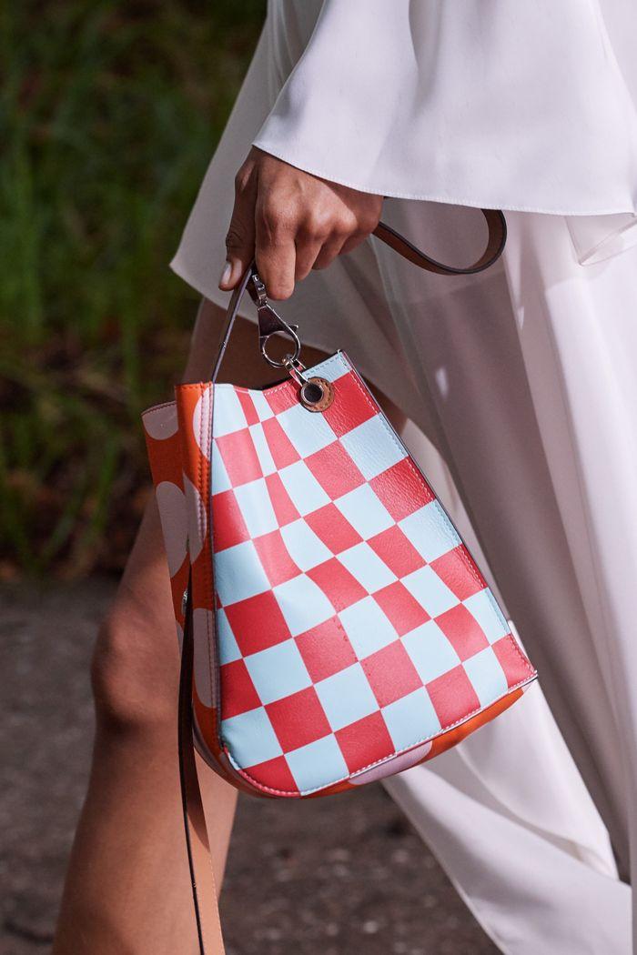 Модная сумка 2020 в клетку из коллекции Lanvin
