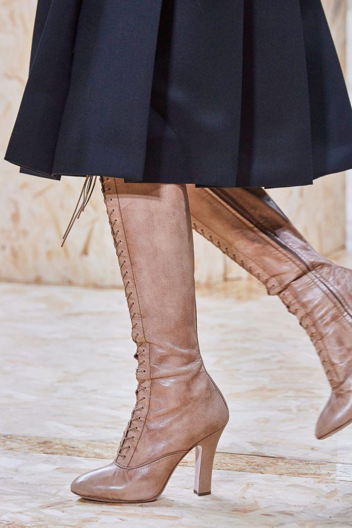 Модные цвета обуви 2020. Коллекция Miu Miu