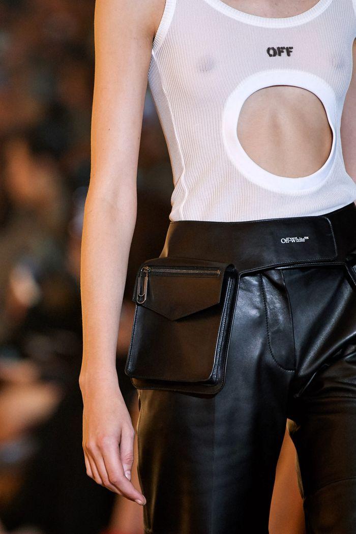 Модная поясная сумка 2020 из коллекции Off-White
