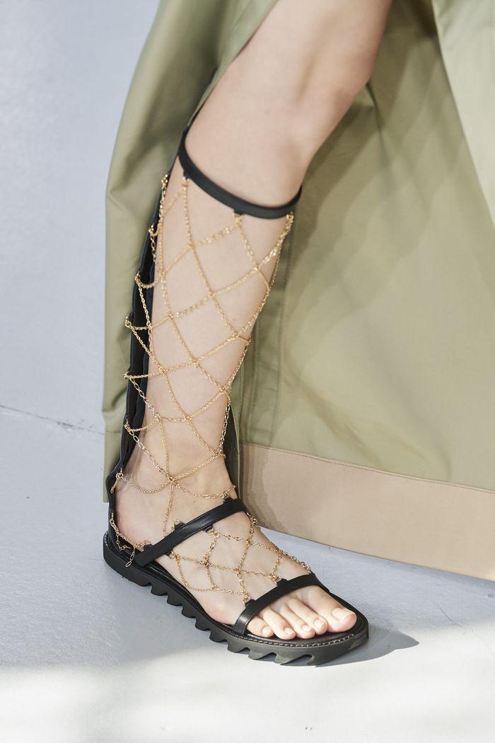 Модная обувь коллекция 2020 Sacai