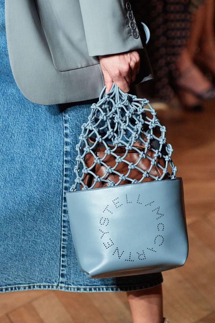 Модная голубая сумка 2020 из коллекции Stella McCartney