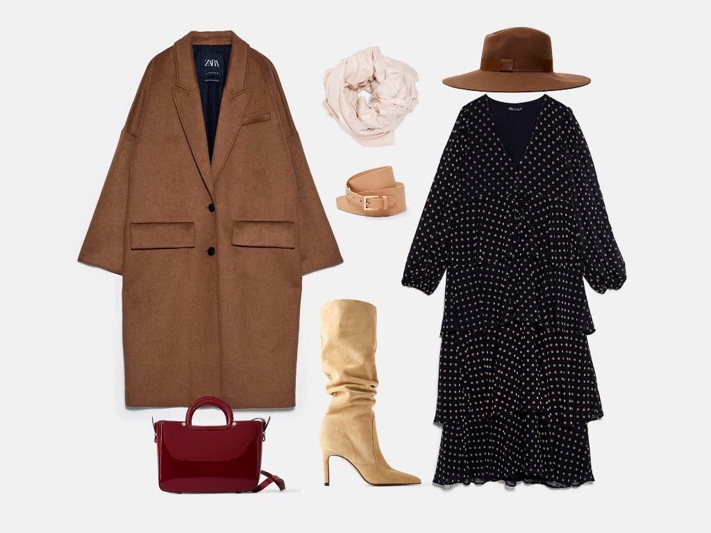 Инфографика: Какую шапку носить с пальто? Совет стилиста по подбору образа