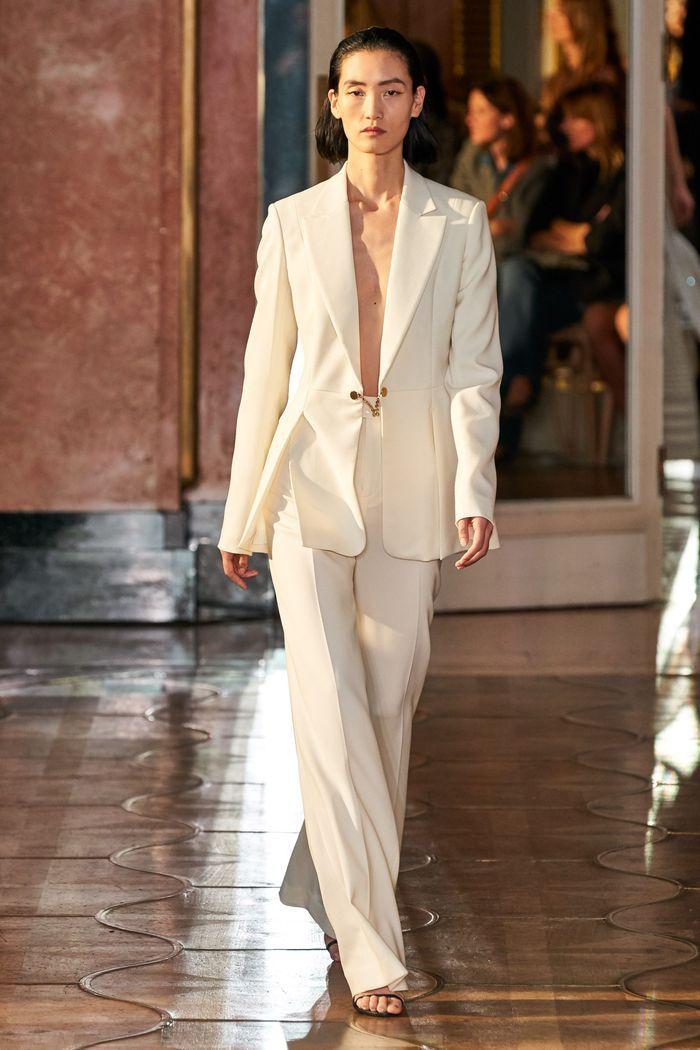 Модные цвета женских брюк 2020 года. Коллекция Altuzarra