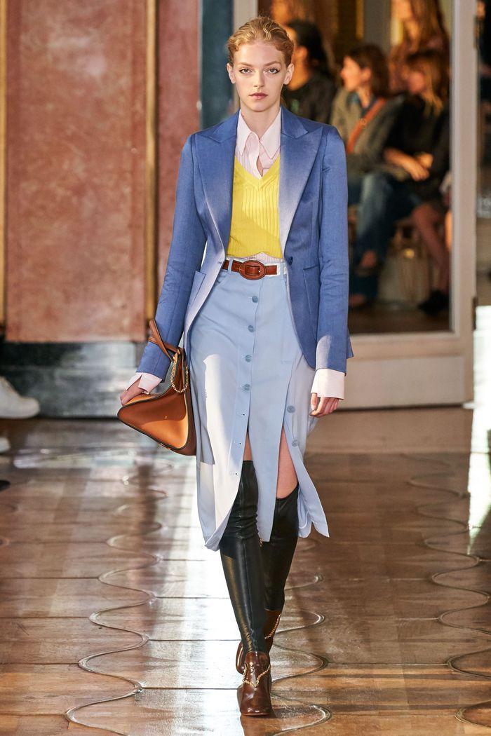 Модная юбка 2020 с пуговицами из коллекции Altuzarra