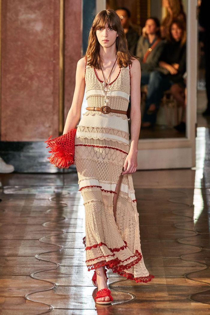 Модное вязаное платье 2020 из коллекции Altuzarra