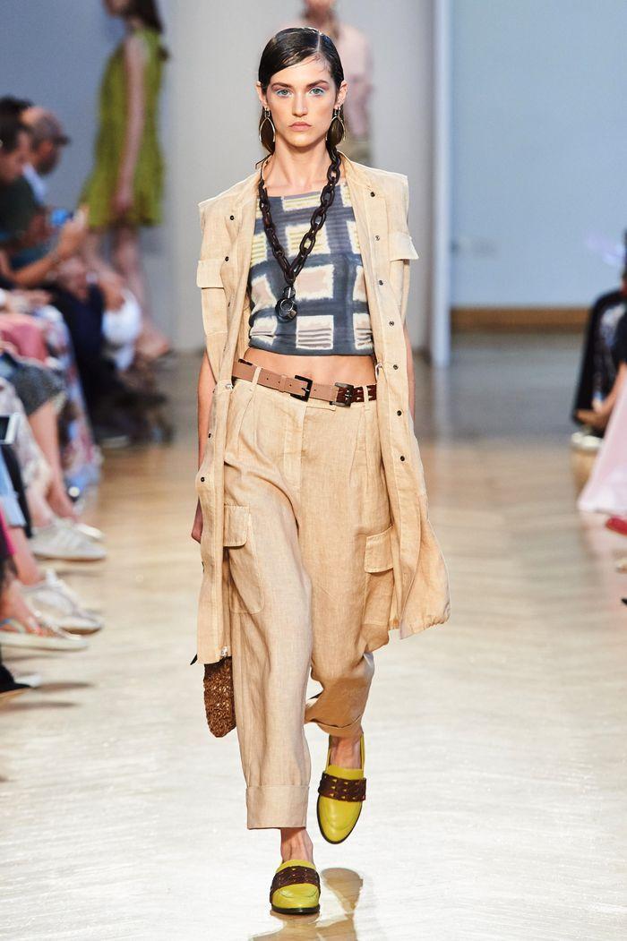 Модные брюки карго с карманами из коллекции Cividini