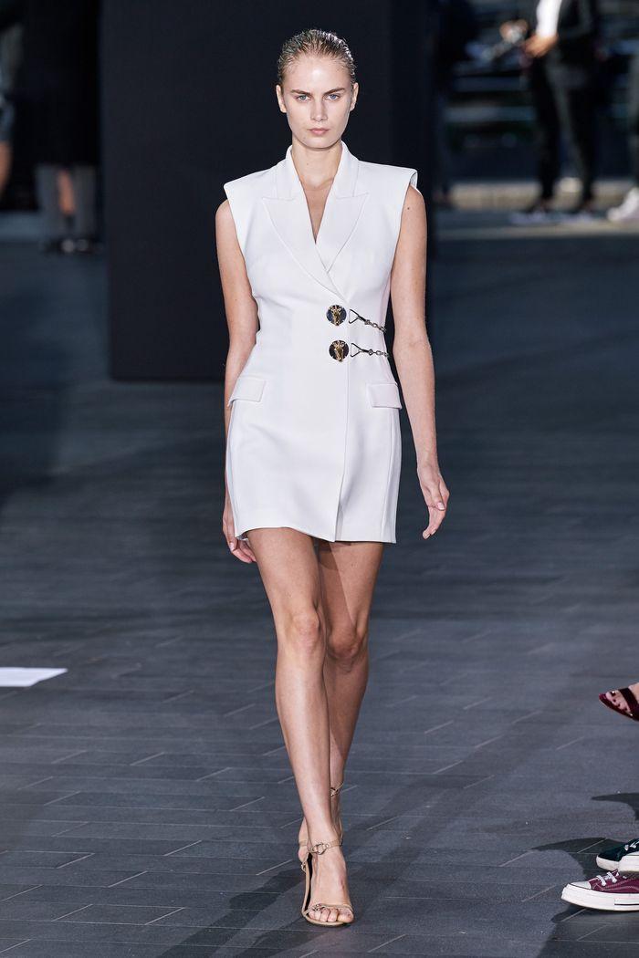 Модное платье 2020 из коллекции David Koma