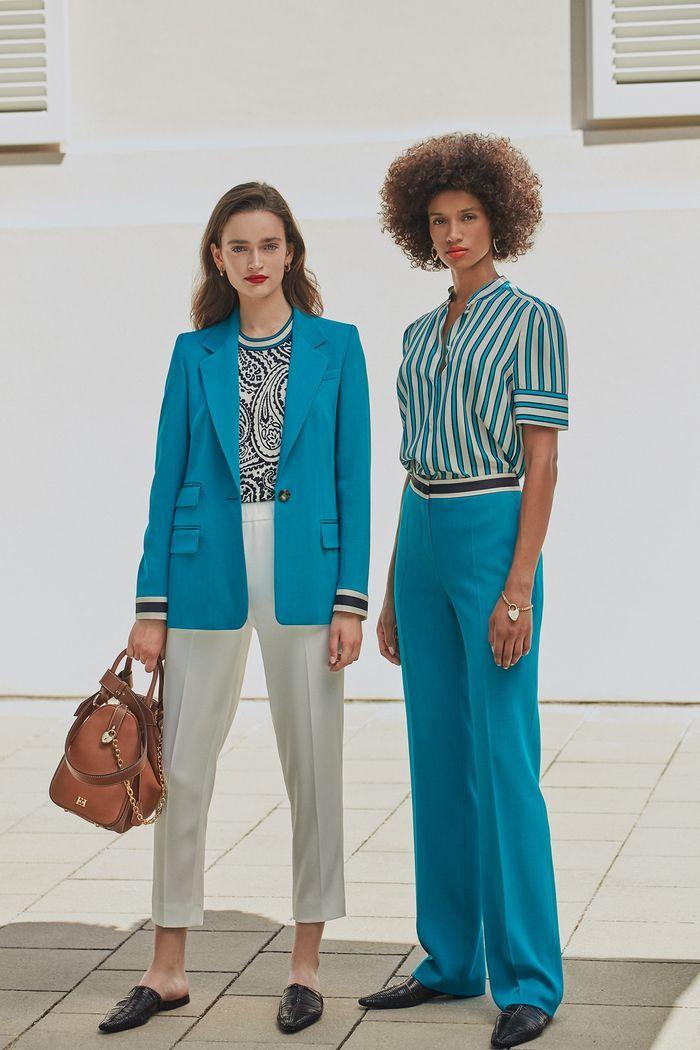 Модные цвета женских брюк 2020 года. Коллекция Escada