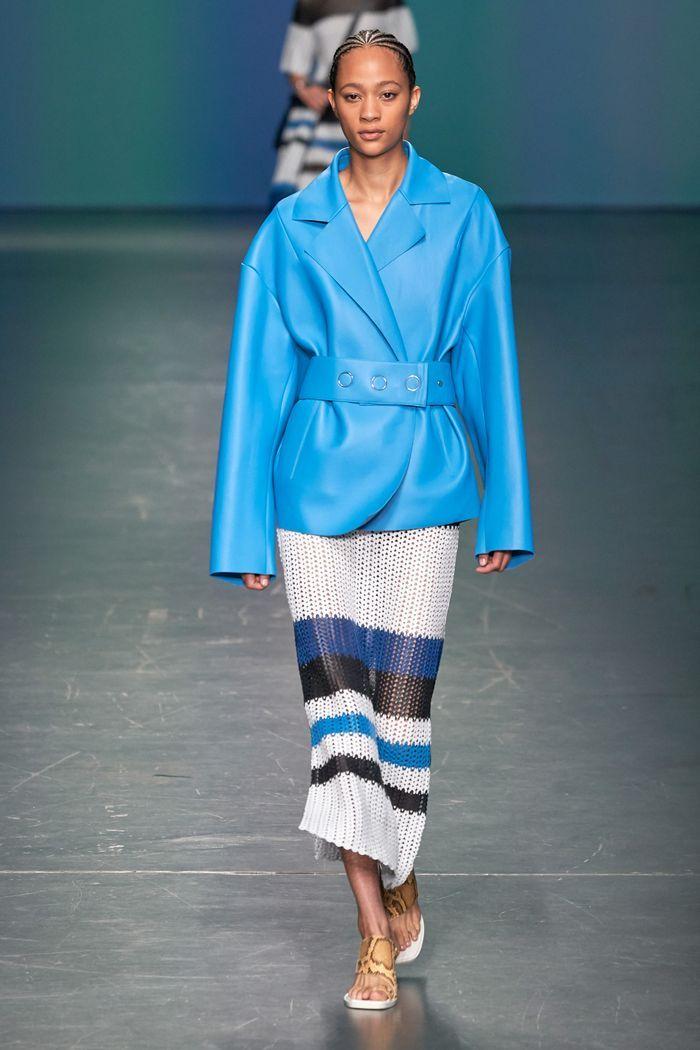 Модная вязаная юбка 2020 из коллекции Hugo Boss