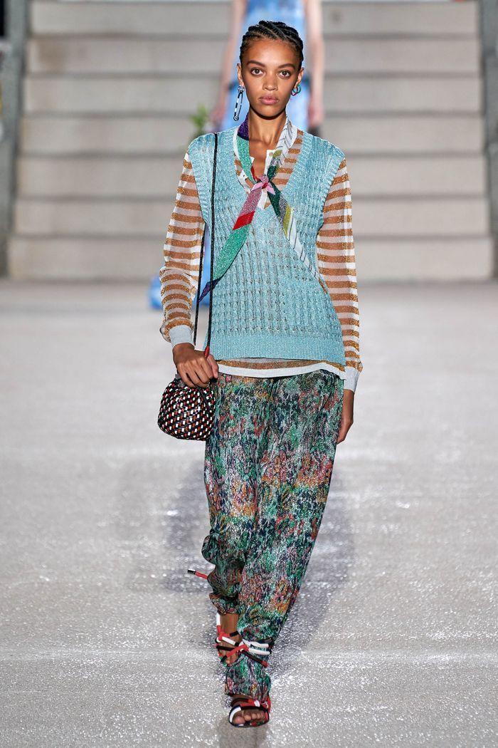 Модные брюки 2020 из коллекции Missoni