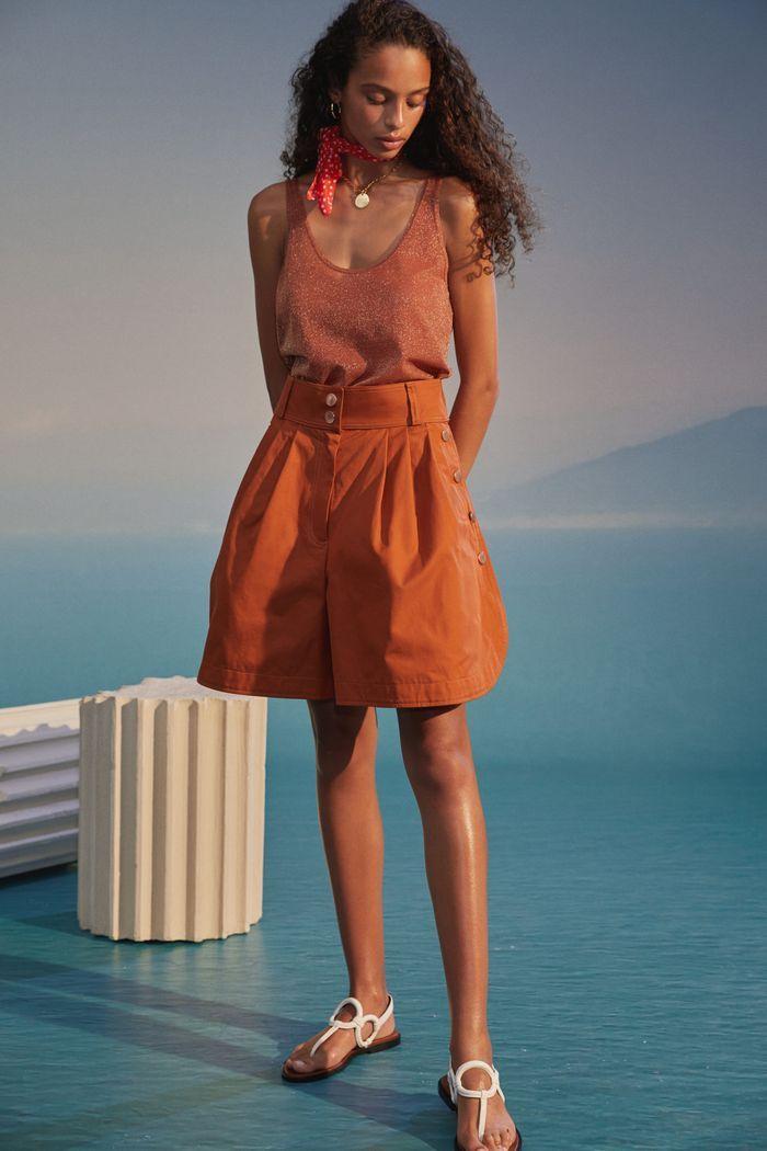 Модная юбка-шорты 2020 из коллекции See by Chloé