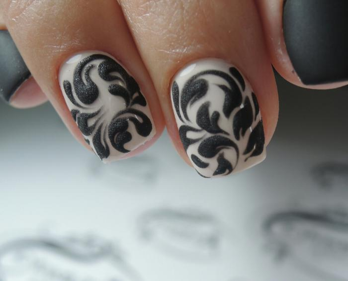 Домашний дизайн ногтей