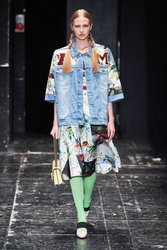 Модная джинсовая куртка 2020 из коллекции Antonio Marras