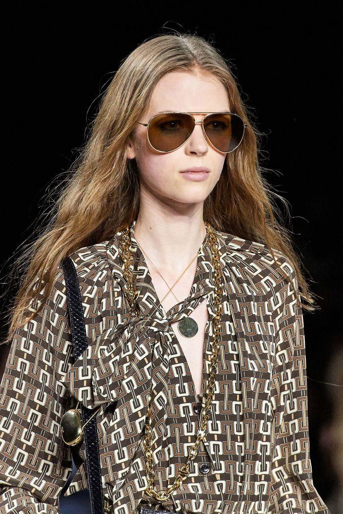 Модные очки aviator из коллекции 2020 Celine