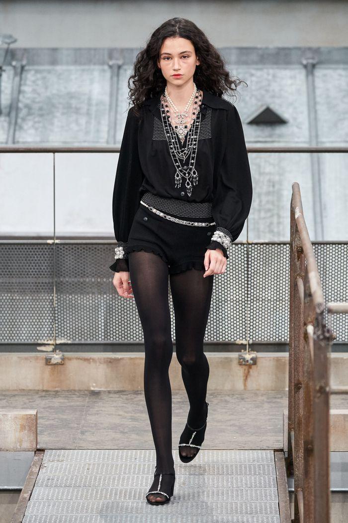 Модные короткие шорты из коллекции весна-лето 2020 Chanel