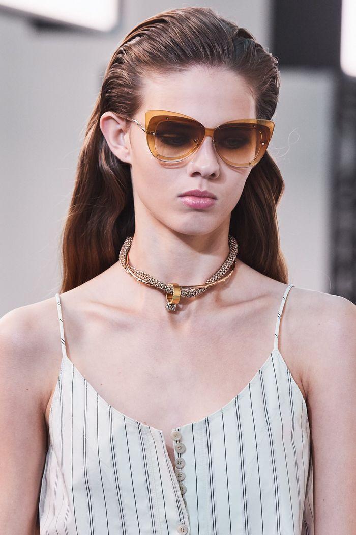 Модные солнцезащитные женские очки с двойными стеклами из коллекции 2020 Chloé