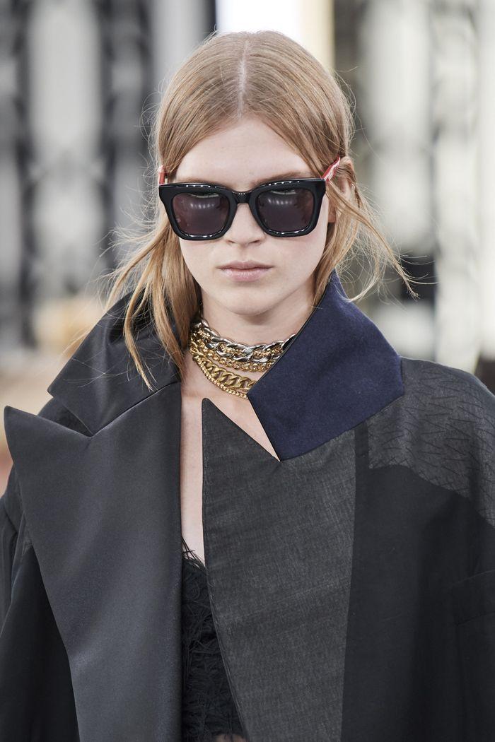 Модные женские солнцезащитные очки wayfarer из коллекции 2020 Sacai