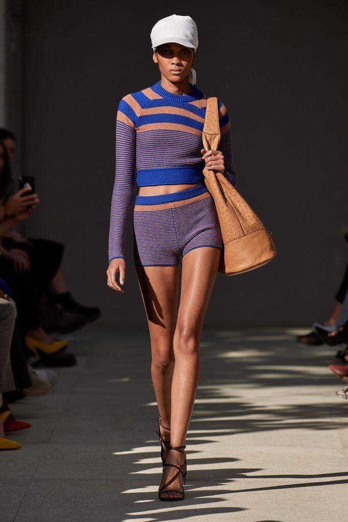 Модные трикотажные шорты из коллекции весна-лето 2020 Salvatore Ferragamo