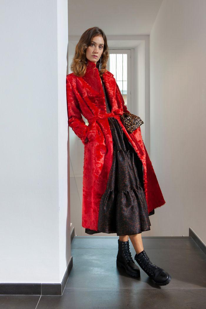 Модное пальто из коллекции весна 2020 Simonetta Ravizza