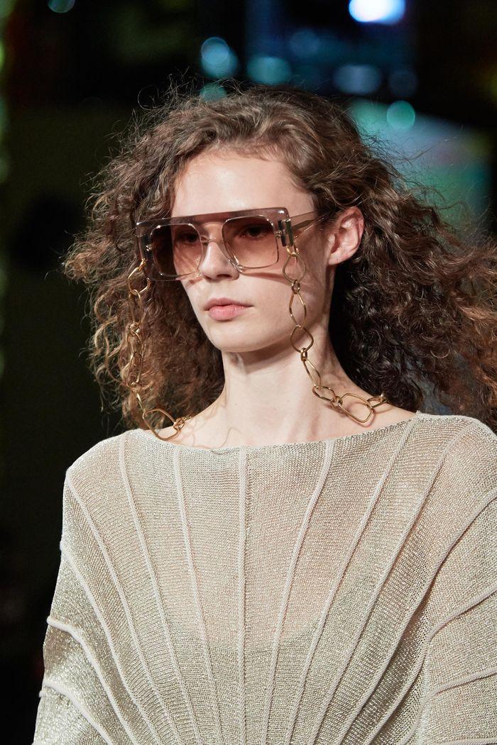 Модные женские очки square с квадратной оправой из коллекции 2020 Stella McCartney