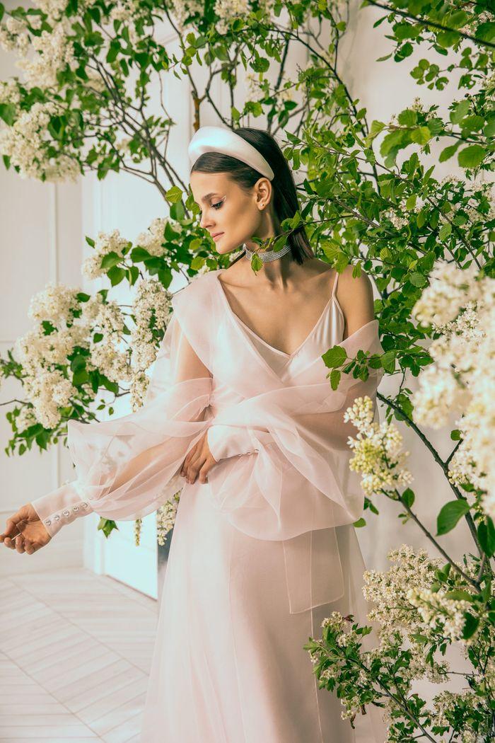 Тренд свадебной моды 2020 - ободок. Коллекция Anastasia Zadorina
