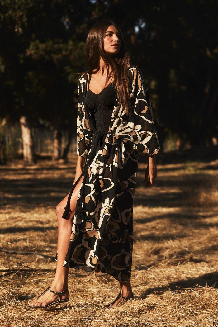 Модное пляжное платье-халат 2020 из коллекции Lisa Marie Fernandez