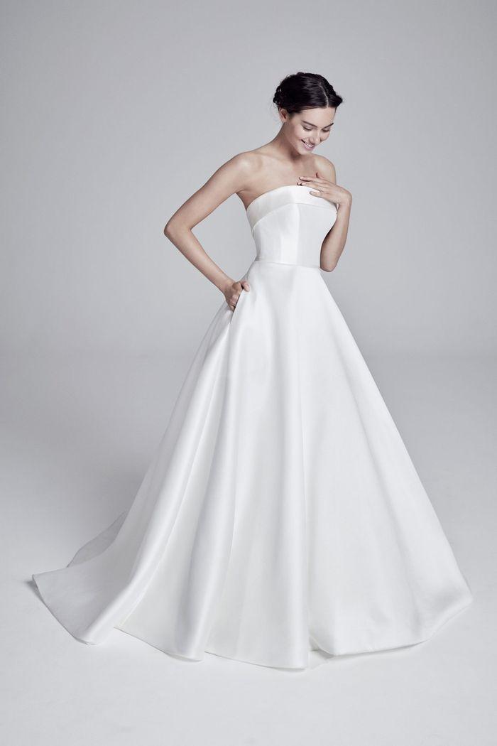 Пышное свадебное платье из коллекции 2020 Suzanne Neville
