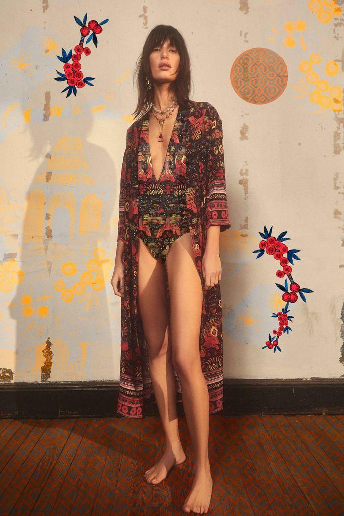 Модное пляжное платье-халат 2020 из коллекции Chufy