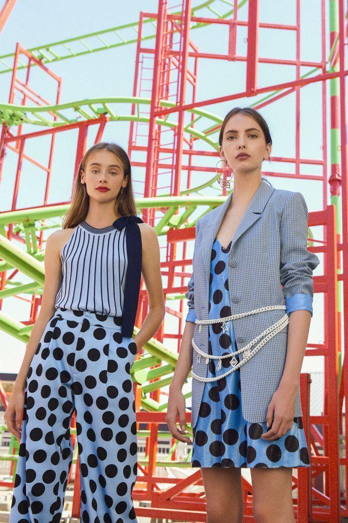 Модный клетчатый пиджак из коллекции весна-лето 2020 Be Blumarine