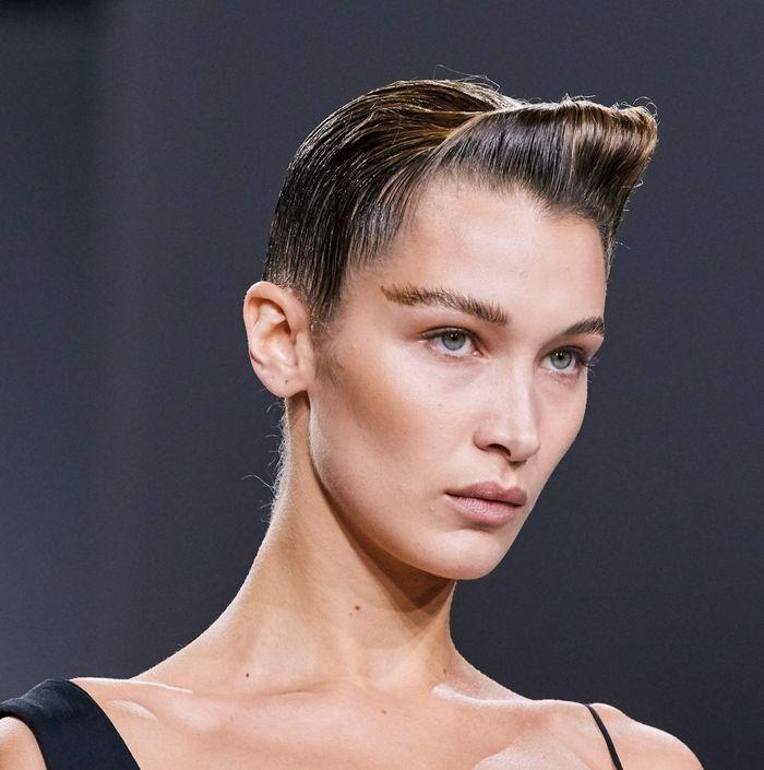 Тренды в макияже весна-лето 2020. Фото с показа коллекции Haider Ackermann