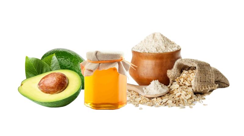 Рецепт № 4 - маска от морщин с авокадо, медом и овсяными отрубями