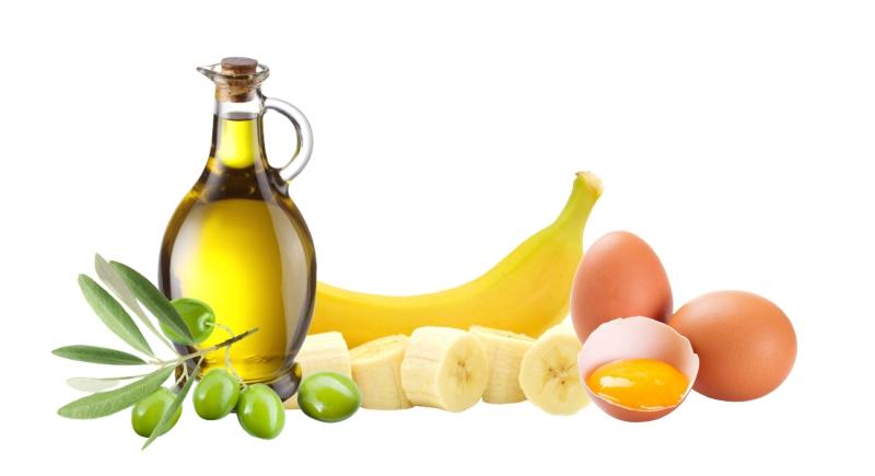 Рецепт № 1 - банановая маска против сухости