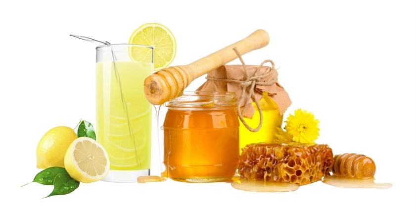 Рецепт № 3 - медово-лимонная маска