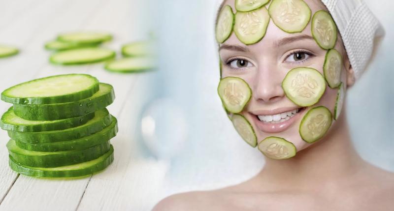 Рецепт № 4 - огуречная маска