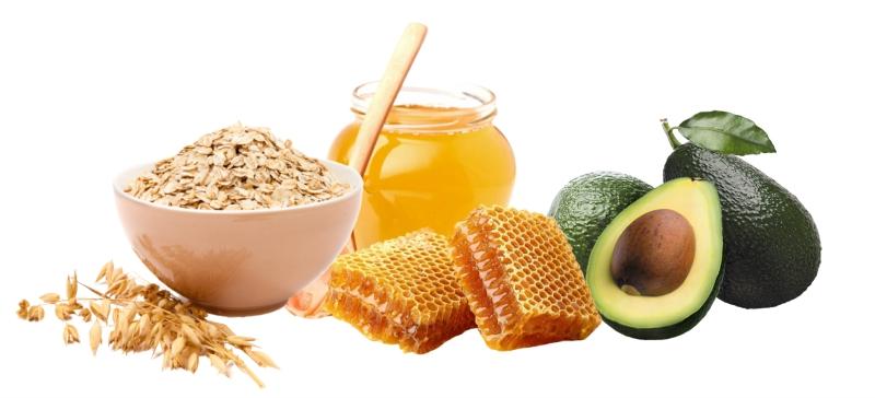 Ингредиенты для натуральной увлажняющей маски для лица